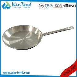 Disque en acier inoxydable Cast la conduction de chaleur combiner bas Sandwich Induction Pan poncés
