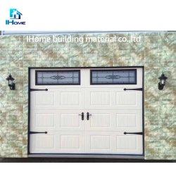 Windowsの格子デザインの鋼鉄ガレージのドア、自動ドア