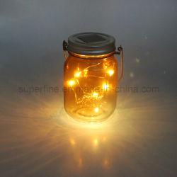 Décoration de vacances Star Glow lanterne du capteur solaire cadeau pour les enfants