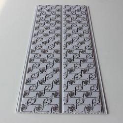 3D 천장은 PVC 천장판 중국에 있는 플라스틱 건축재료를 타일을 붙인다