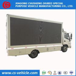 La Chine 4*2 Three-Sides relevable un écran couleur Outdoor véhicule publicitaire LED chariot
