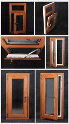 Het Openslaand raam van het Venster van de Profielen van het Merk UPVC /PVC van Beidi