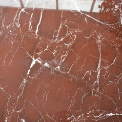 600X600 Rosa Levanto textura clara baldosa de mármol rojo