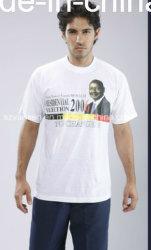 Plain 100% Coton T-shirt de la campagne électorale pour la promotion