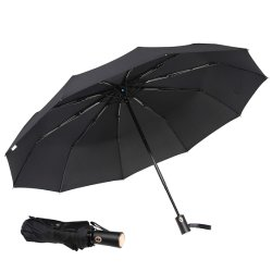 يطوي لعبة غولف مظلة, سيّارة صامد للريح مفتوح ومقبض