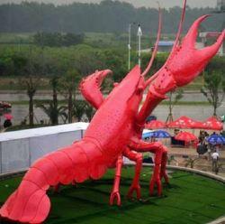 Grande piscine en acier inoxydable Abstrait Animaux Art Metal Dragon sculpture pour la vente