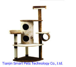 Commerce de gros jouets cat cat Centre d'activité / Castle cat Tree House