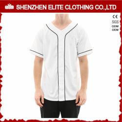 Het bulk Lege Honkbal Jersey van het Embleem van de Douane van de Goede Kwaliteit van de Verkoop (eltbji-19)