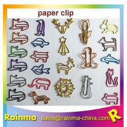 Gostavas de clipe de papel Animal personalizado para alimentação de papelaria