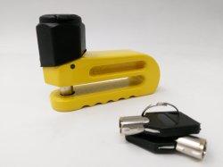 Verrouillage du disque de métal trempé robuste - La broche 5 mm jaune