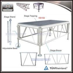 Goedkoop Draagbaar Verwisselbaar Modern Platform Stage Aluminium