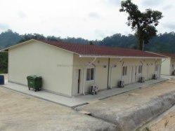 Casa pré-fabricados para o local de trabalho temporário de Porta Cabina Camp House