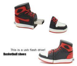 Sneakers zapatos personalizados de forma una unidad flash USB de muestras gratis