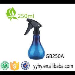 Vendita calda! bottiglia della pompa dello spruzzatore di innesco dell'animale domestico 250ml/giardino/bottiglia liberi di plastica vuoti spruzzo d'acqua