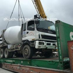 Gebruikte Isuzu Cyz 6 de Vrachtwagen van de Mixer van /Isuzu Hino Nissan Fuso van de Vrachtwagen van de Concrete Mixer van de Cilinder 8m3 10m3 12m3