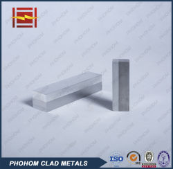 L'aluminium+acier plaqués bimétallique Plaque pour expédier les pièces joints de transition