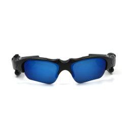 屋外スポーツハンズフリーのヘッドホーンが付いているスマートなガラスのBluetoothのサングラス