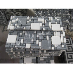 Painel Contra Salpicos de pedra Fronteiras do Mosaico de Imagens para decoração telhas