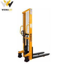 1.0Ton 1.5ton 2.0ton mano hidráulico de elevación manual Apiladora carretilla elevadora