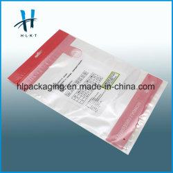Enveloppe en polyéthylène LDPE Curseur de sacs en plastique du vêtement