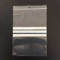 Cierre de cremallera Tapables impresas personalizadas bolsas de plástico de embalaje para el embalaje