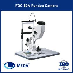 Nova câmara de fundo de Alta Resolução Automática de oftalmologia com fonte de luz LED
