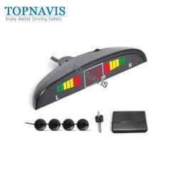 Auto voiture LED système de stationnement de recul avec 4 capteur arrière