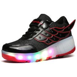 Novo Design casual Sport Roletes com 7 cores bonitas e de luz LED de carregamento padrão para homem e mulher