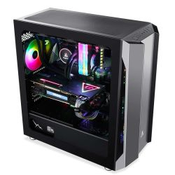 Novo chegar 2021 Micro ATX/ Itx M5 com ABS com vidro temperado PC do computador