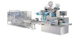 ماكينة كاملة أوتوماتيكية لطي الأنسجة الرطبة وباكها