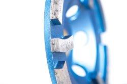 عجلة كأس الطحن المعدنية الماسية الماسية ذات السندات للبيع