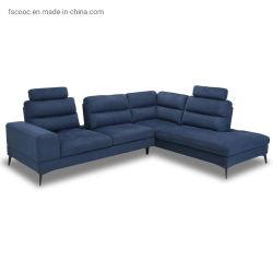工場卸し売り居間のFurnituretopの革ソファーのL字型ソファー