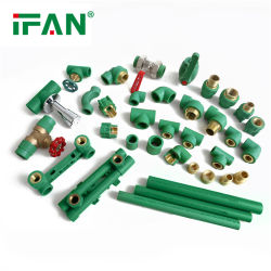 IFAN PPR/HDPE/PVC/CPVC kunststof 20mm - 110mm leidingsystemen Waterpijpen En fittings