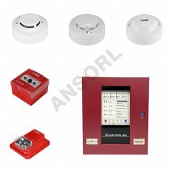 Sistema di controllo degli allarmi antincendio convenzionale in modalità automatica e manuale