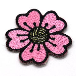 Мода Flower Lace Applique Custom утюг вышивка патч для одежды