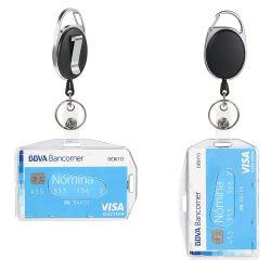 Großhandel ID-Kartenhalter Lanyard Transparent Silikon Badge Halter