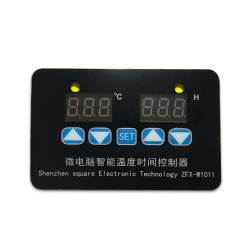 Zfx-W1011 Pantalla Digital Termostato Controlador de temperatura electrónico