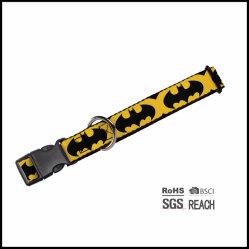 De volledige Halsband van het Huisdier van Spiderman van het Af:drukken van de Manier van de Kleur Koele Buitensporige