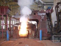 Horno de arco eléctrico (EAF) cazo y horno de refinación (LF) para la fábrica de acero