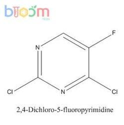 Réactif chimique Bloom Tech 2, 4-dichloro-5-AC Fluoropyrimidine 2927-71-1