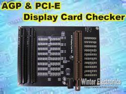 힘 접합기 (DT-0032)를 가진 AGP Pcie 전시 카드 검수원