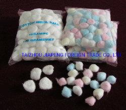 使い捨て可能な100%の吸収性の綿球