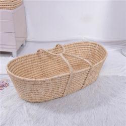 La Cáscara de maíz hechas a mano de la cesta Moisés CUNA CUNA Portabebés Sleeper Exluding camisas de tejido de manguito/Winshield/tapa de la ropa de cama