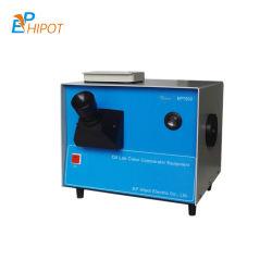 Colorimetro dell'olio dello strumento di misura colora dell'olio del laboratorio tester/Ept500 di numero di colore dei prodotti petroliferi di ASTM D1500