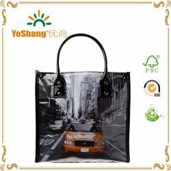 Полноцветный блестящих мешок из ПВХ изоляцией ПВХ женская сумка с обедом