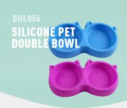 Fabricante de plástico PET Anti-Skid Multi-Colors grossista tigela para pequenos cães gatos e animais de estimação