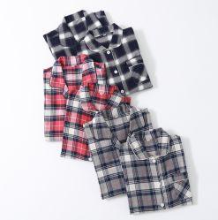 Pijama de franela dormir verificar pijamas pijamas de algodón dormir