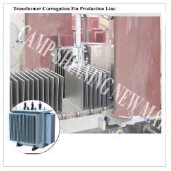 Трансформатор гофрированный производственной линии радиатора/гофрированной стенки бака производственной линии для распространения трансформатора/Cg трансформаторы гофрированный Fin производственной линии