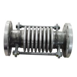 Acero inoxidable 304 Fuelles de metal corrugado de dilatación con bridas de acero al carbono