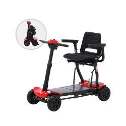 Potencia ajustable y ligera de movilidad de discapacitados Mini Scooter eléctrico para la venta